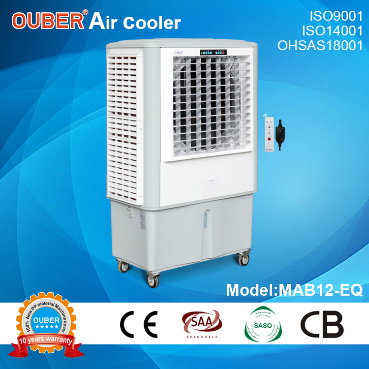 12000 axial mobile type/3 sides air inlet/ plastic water tank/ single phase power supply type