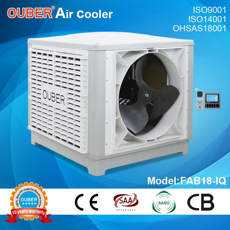 18000 air duct machine/inverter 50 speeds/fixed axial beside air discharge