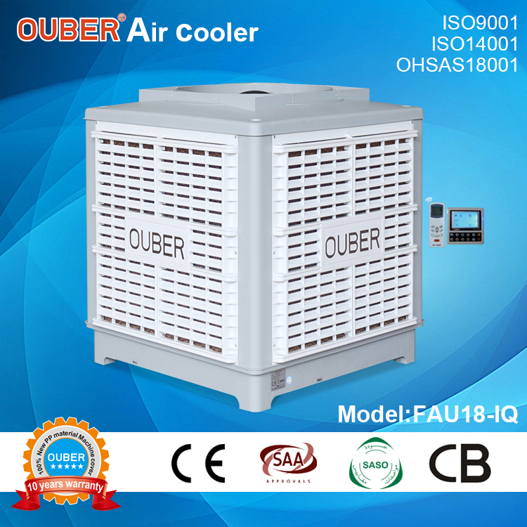18000 air duct machine/inverter 50 speeds/fixed axial upside air discharge