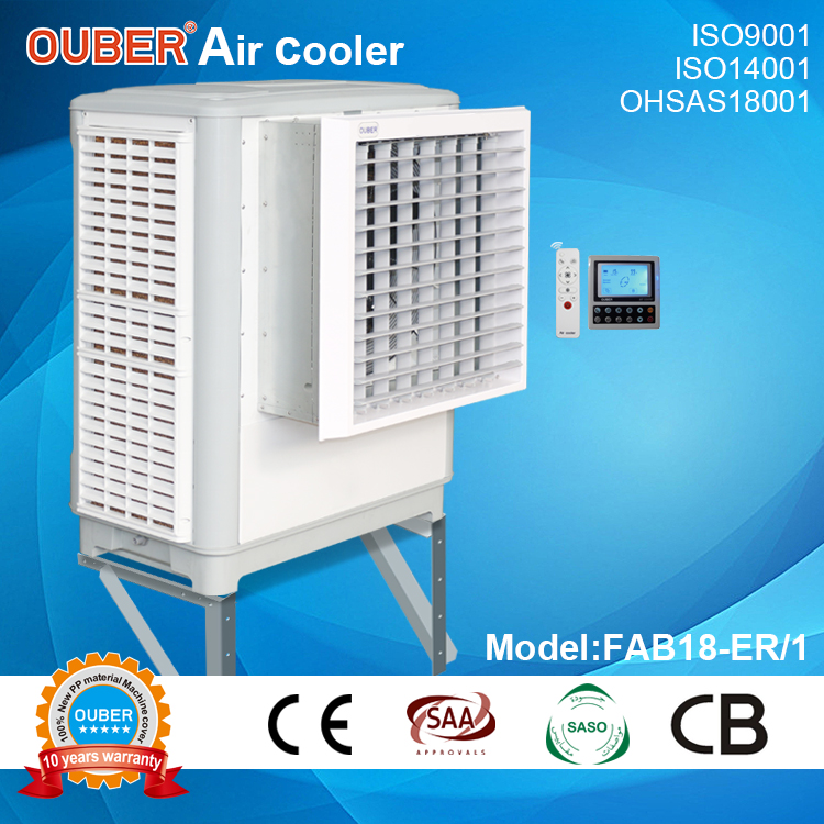 18000axial window type/silence design/3 sides air inlet/single phase power supply type